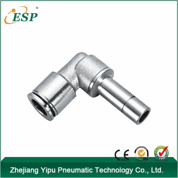 ESP pneumatic plug-in tee metal <strong>fittings</strong>