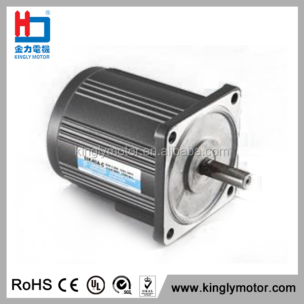 Geared Asynchronous Ac Motor 55W Ac Motor For Hand Dryer