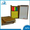 Recycled Cardboard Paper Notebook Sticker