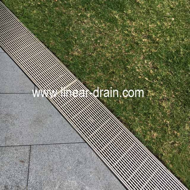 commercial public buildings centers residences trench drain