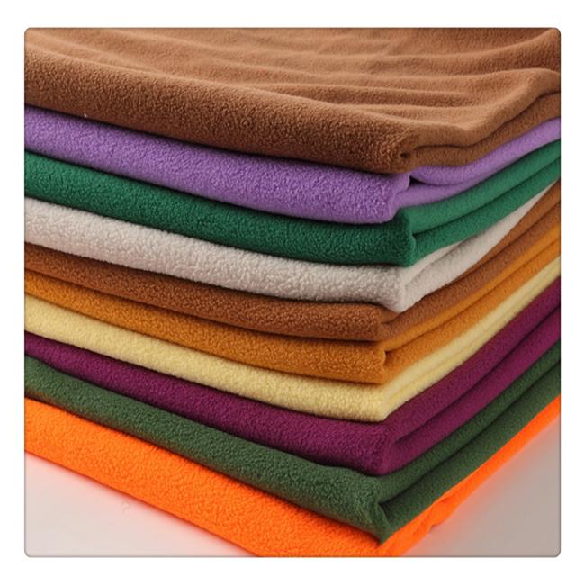 100% polyester cheap price micro polar fleece fabric for blanket