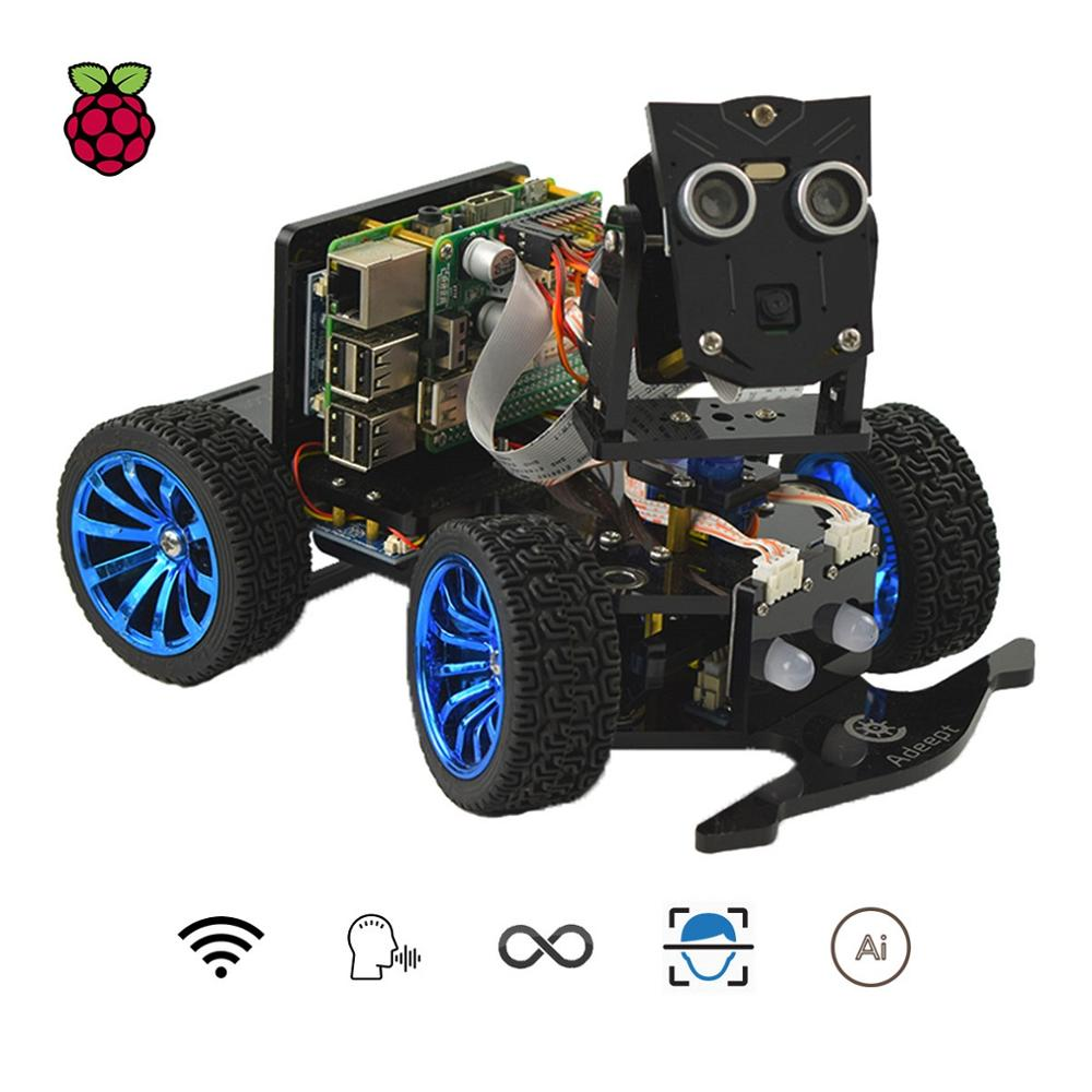 Adeept 3WD Bluetooth Smart Car Kit for Arduino with Android APP Line Tracking