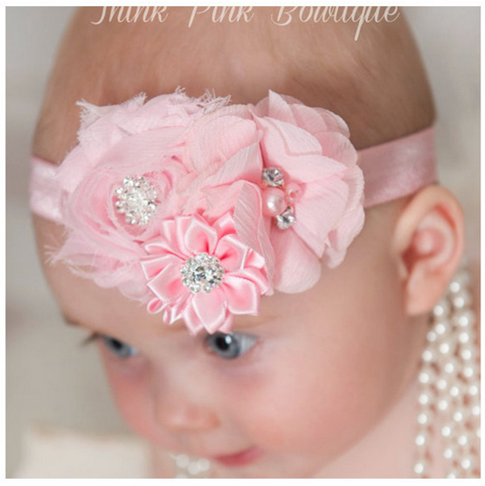 5pcs Kids Hair Accessories Stock Wholesale Infant Baby Fillet Elastic Headbands Original Made font b Fancy