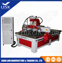 Heavy duty multi spindles cnc router machine model making machine cnc router metal cutting machine
