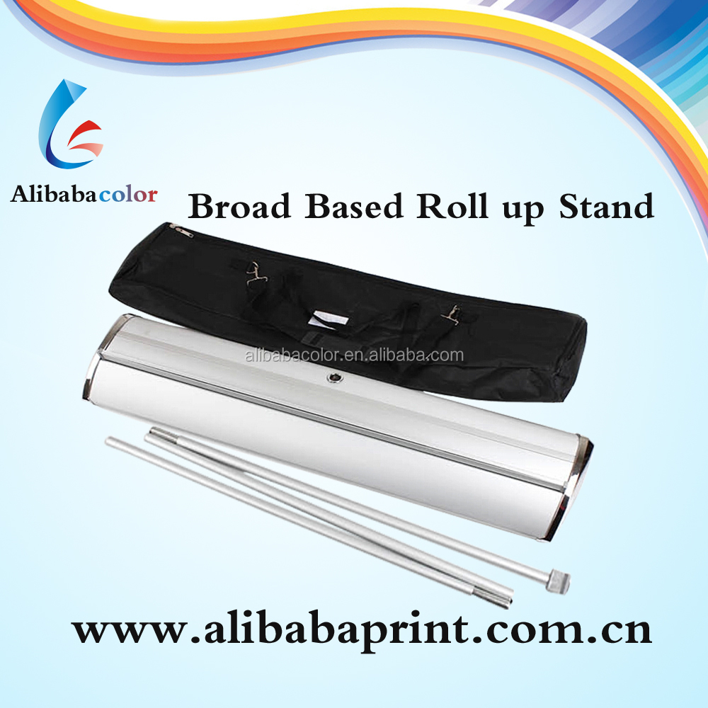 Aluminum Top quality 85*200cm wide base roll up banner stand