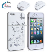 wholesale for iphone 5 custom butterfly back cover IMD case