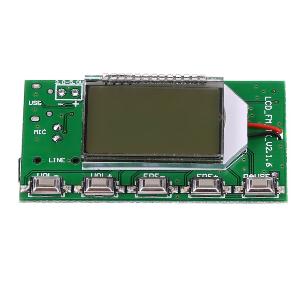 Cheap Fm Radio Circuit Board Find Deals On Receiver Using Tda7000 Diagram Get Quotations Digital Wireless Transmitter Module Microphone Audiotransmitter 87 108mhz