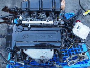 USED JDM MT 6SP 4AGE 6 Speed ENGINE MOTOR for Trueno Levin AE111 20V BZ-R