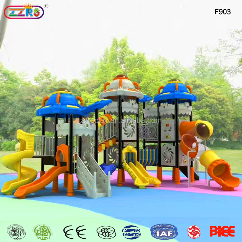 free design kids outdoor plastic tube slide special needs playground
