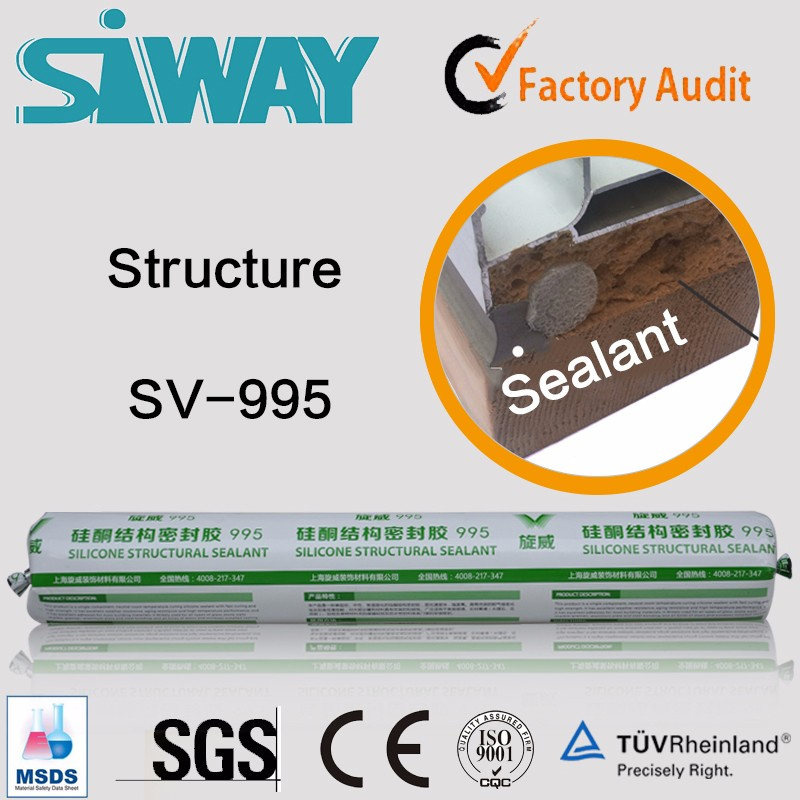 One part bulk structural silicone sealant