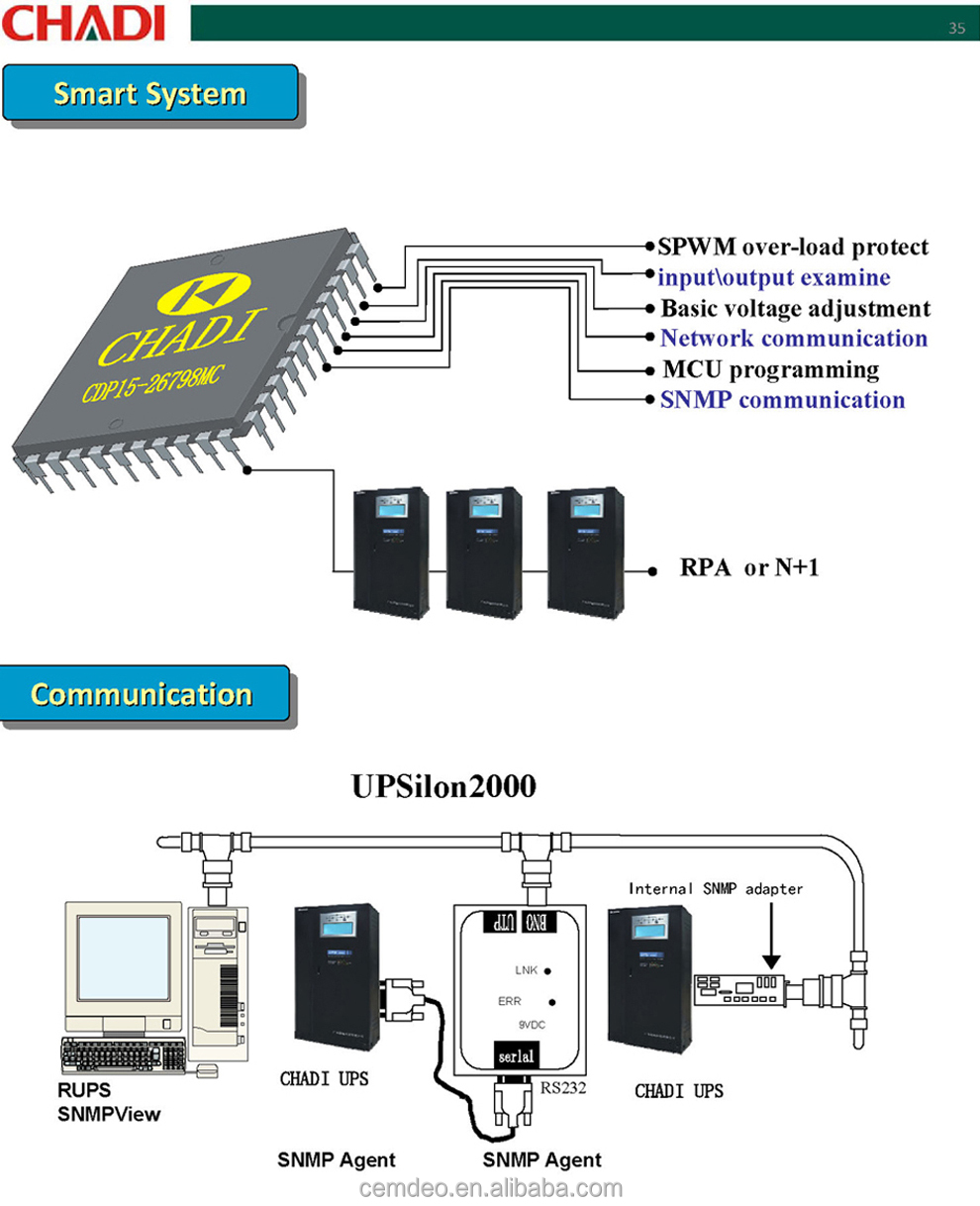 415v Three Phase 400kva Ups Pure Sine Wave Buy Schematic Diagram Datasheet Circuit Cdd Ppt990 23 Technical Data Sheet