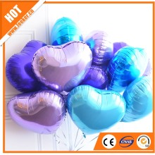 18 inch Heart shape foil balloon, helium balloons for kids toy
