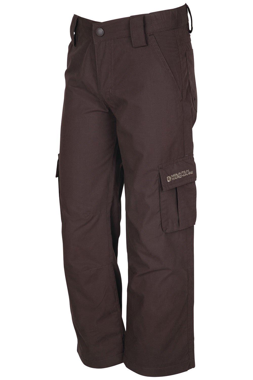 bfc430e38b7 Get Quotations · Mountain Warehouse Kids Warm Pants Fleece Lined Winter  Trek pants