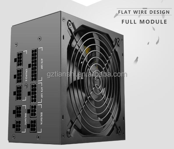 600 pieno modulare 80 PLUS ATX Gaming PC Power Supply/PSU