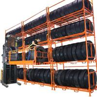 Widely Used China Manufacturer Steel Stack Tire Rack