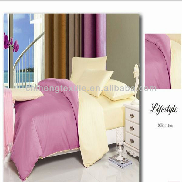 effen kleur beddengoed set 100% poly mode en comfortabel beddengoed set product ID 1105681472