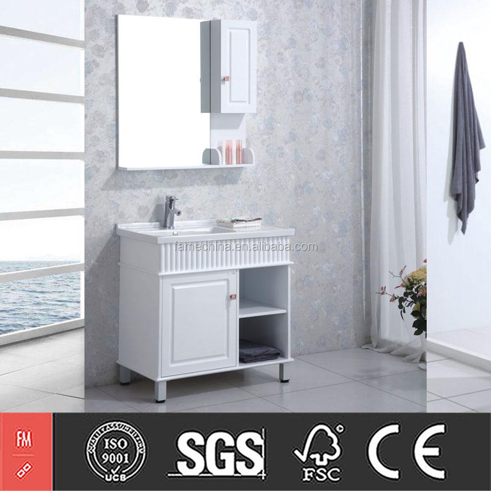 סנסציוני ארונות אמבטיה ארון מראה כפולה עמיד למים מתחת לכיור-הבלי אמבטיה VZ-23