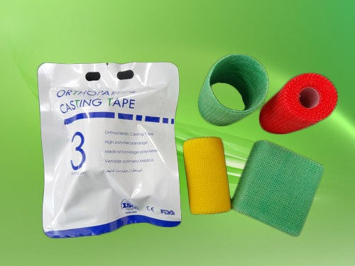 Hot sale Fiberglass & Polyester High Strength Light Weight Orthopedic dressings and care for materials
