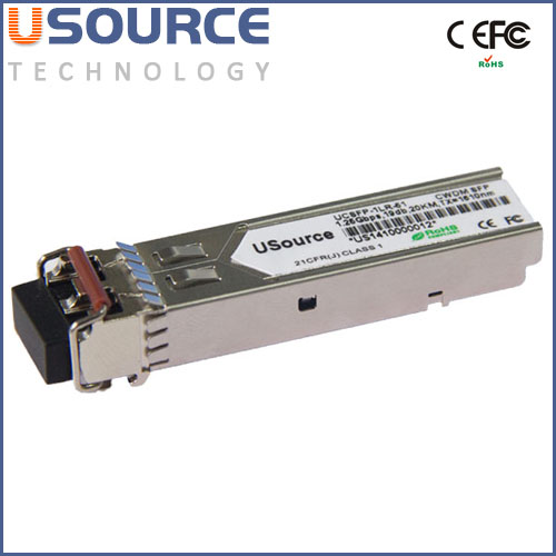 Compatible 1.25G SFP dual fiber 1550nm 60KM Mini GBIC fiber optic transceivers Made in China