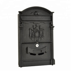 Hot sale outdoor apartment wall mounted mailbox