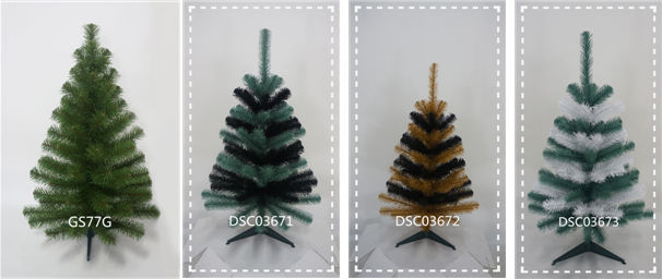 Pre-Lit folded Decorative pop up christmas tree with Lights