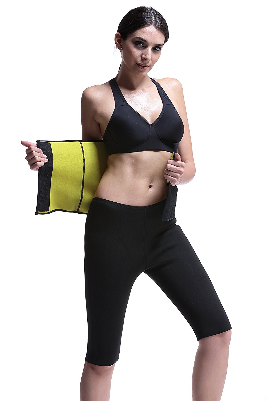 be8ffb3f68 RoseJeopal Sauna Waist Belt hot Sweat Slimming Neoprene Body Shaper for  Women Belly Fat Burner