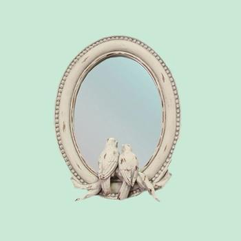 fancy mirror frame. Fancy Handmade Creative Bird Resin Mirror Frame .