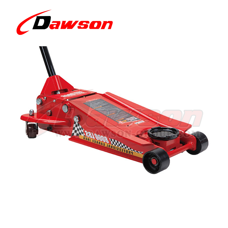 DST84008 4 Ton Heavy Duty Low Profile Hydraulic Trolley Garage Jack