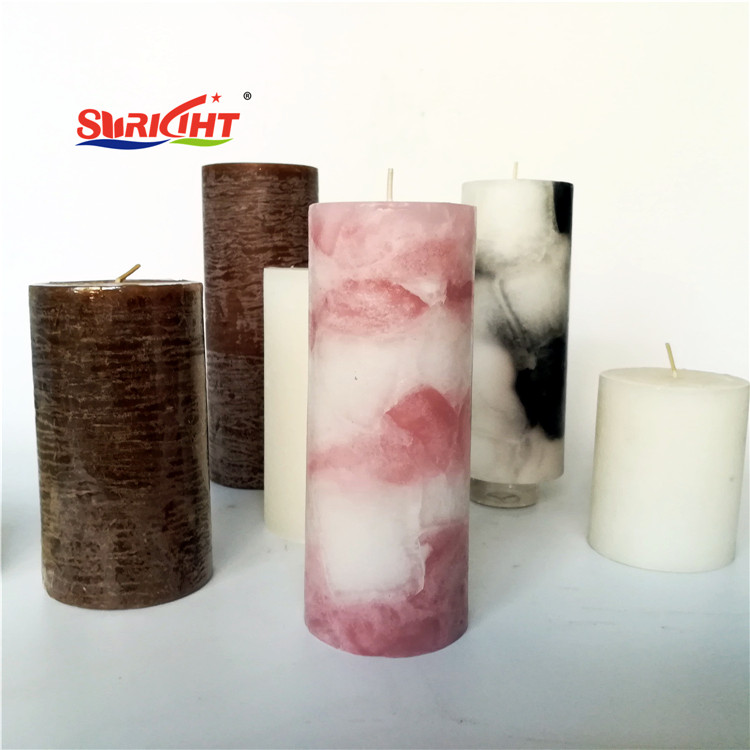 Aromatic Decorative Housemade Art Night Lights Pillar Candles