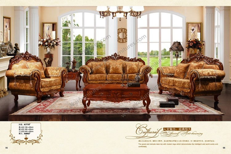 Sofa in wood sofa living room furniture wood carved living for Quiero ver muebles