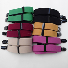 factory wholesale braces suspenders fashion elastic suspenders fashion dress suspenders for women