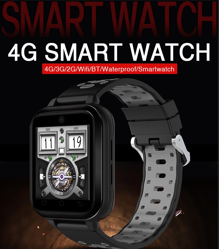 2019 High Quality 4G GPS Phonecall 1.54 inch IP67 Waterproof Android Camera Smart Watch Phone Sport Smartwatch
