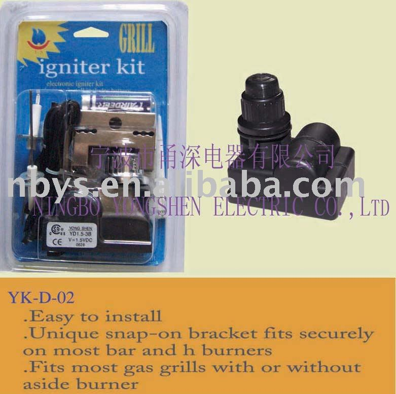 Replacement Ignitor kits for BBQ GRILL appliances