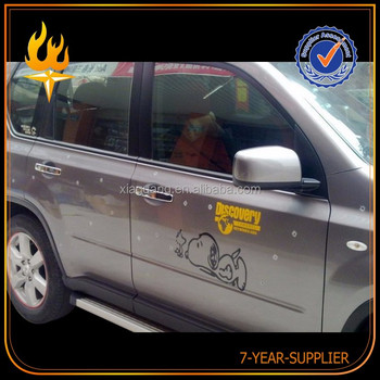 Full Car Body Wrap High Definition Printing Bomb Vinyl Car Sticker