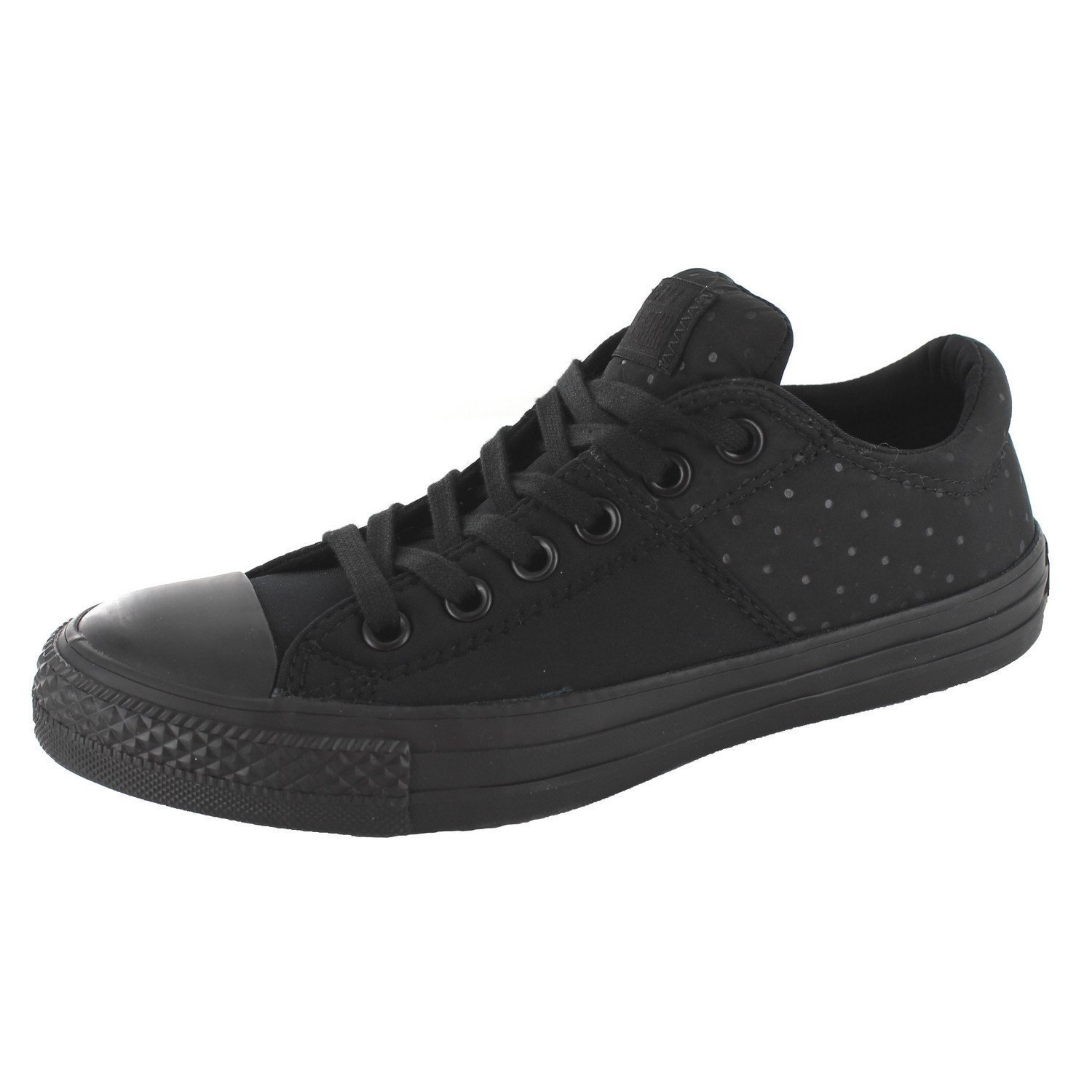 7aa8dfa657c1 Get Quotations · Converse Chuck Taylor All Star Madison Neoprene Ox  Black Black Black Womens Lace up