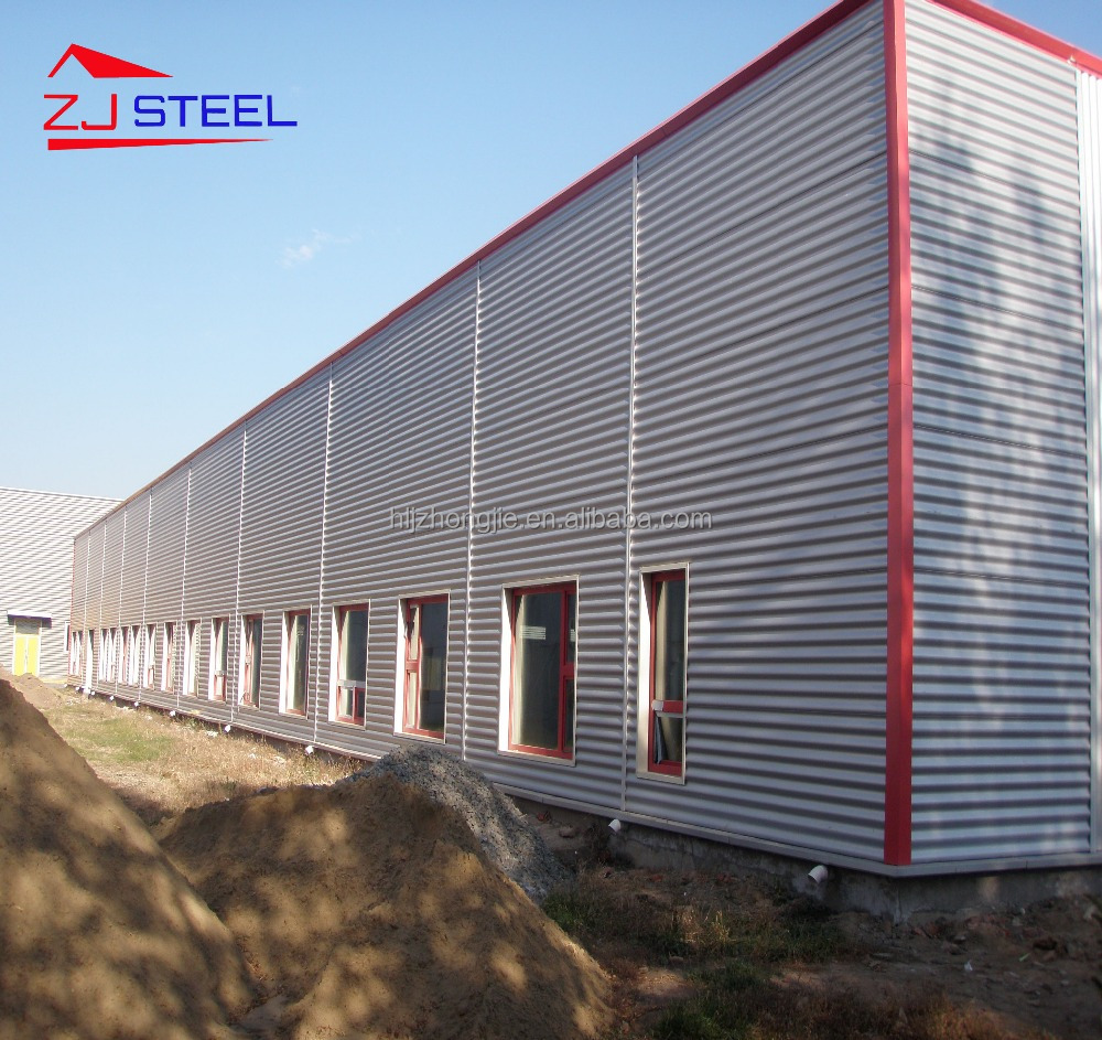 low cost steel structure prefab warehouse/office/shed with free drawing