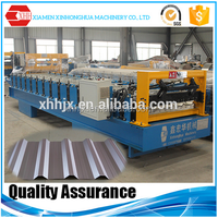color coated corrugated steel roofing sheetsforming machine