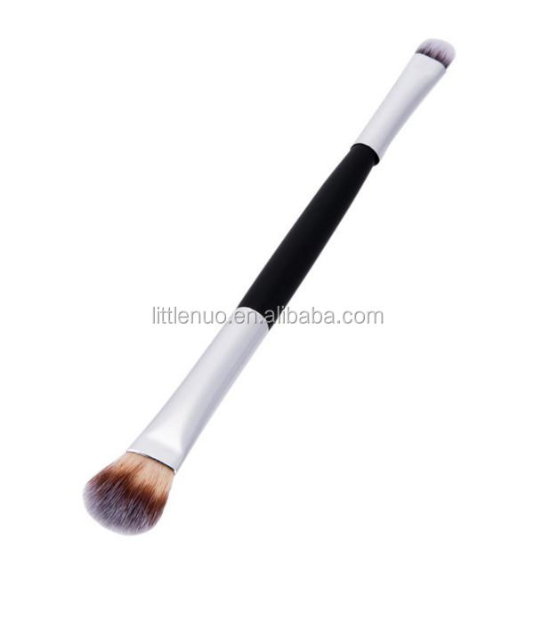 MB0097Y Double End Nylon Hair Eyebrow Eye Shadow Brush With Cheapest Price and Private Label Makeup Brush
