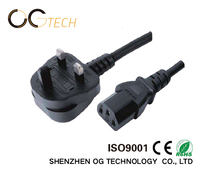 Professional Manufacturer Supply UK Type AC Power Cords Cable