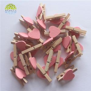 Multi-use various size wooden hair clips in bulk