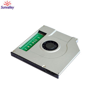 New model M. 2 (NGFF) SSD hdd caddy for DVD ROM with a Cooling Fan