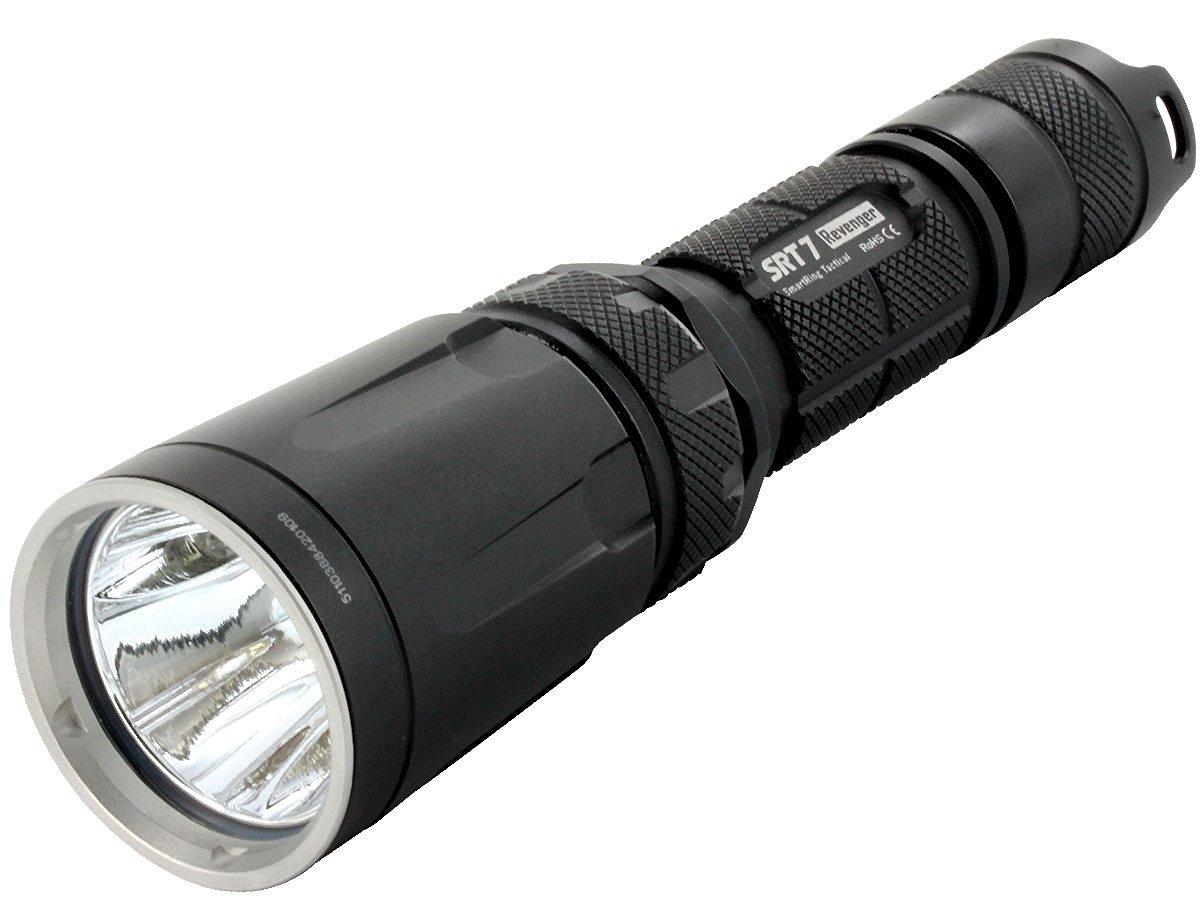 Nitecore Hunting Kit SRT7 960 Lumens Flashlight Black