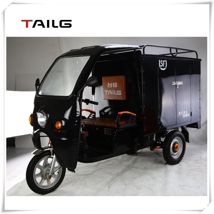 tailg praticable delivery tricycle / three-wheel motorcycle with cabin