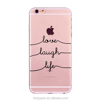 new style 31c74 f16a2 Wholesale Custom Printed Personalized Letters Tpu Phone Case For Iphone 7  Plus - Buy Custom Printed Personalized Letters Phone Case,Tpu Phone Case  For ...