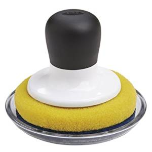 OXO Good Grips Non-Scratch Scrubber with Tray