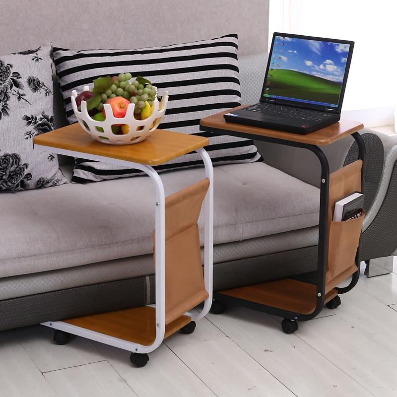 Simple Sofa Laptop Desk With Wheels To Facilitate Small