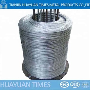 High carbon galvanized lead patenting steel wire used for wire rope