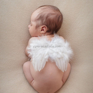 Baby Feather Fairy Angel Wings Photography Props Costume Party Decor 6-18 Months