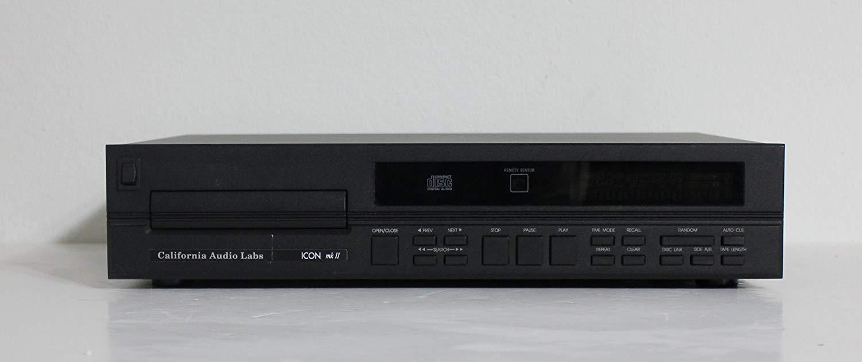 California Audio Labs Icon MKII MK II Single Compact Disc CD Player
