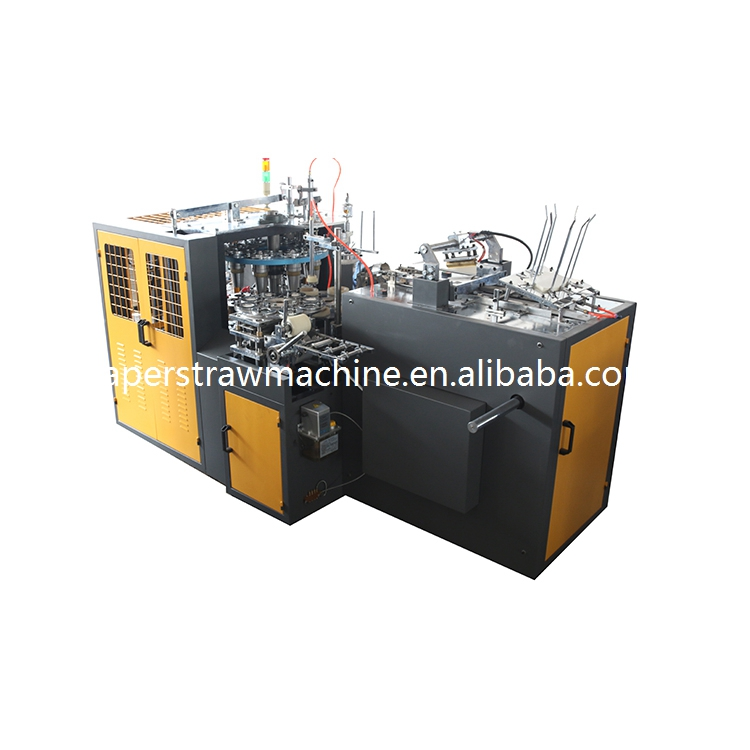 Chinese jbz a12 rice straw paper machine cup making machine for the manufacture of paper cup making disposable cup